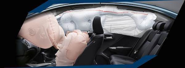 Honda City ตอบโจทย์เรื่องความปลอดภัยได้เด่นกว่า Nissan Almera ด้วยถุงลมมาให้ถึง 6 จุด