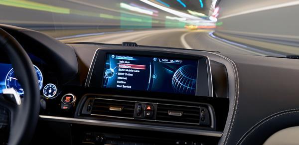 """ระบบ """"BMW ConnectedDrive"""""""