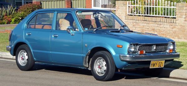 1976 Honda Civic 5-door hatchback