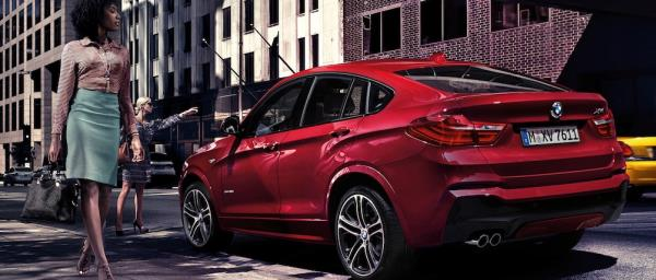 BMW X4 ใหม่ ที่ออกแบบมาด้วยรูปลักษณ์ที่ปราดเปรียว