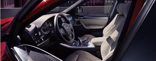 ภายใน BMW X4 ที่มาพร้อมเทคโนโลยีทันสมัย