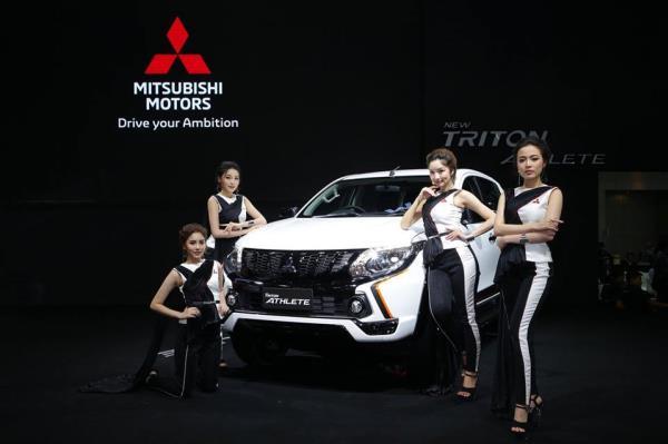 รถยนต์ MITSUBISHI ในงาน Thailand International Motor Expo 2017
