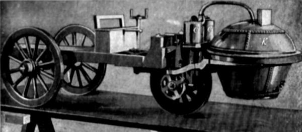 รถไอน้ำคันแรกของโลกในปี 1769