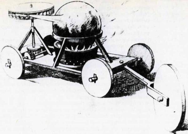 รถของเล่นที่ใช้พลังงานไอน้ำคันแรกของโลกมีความยาว65ซม.