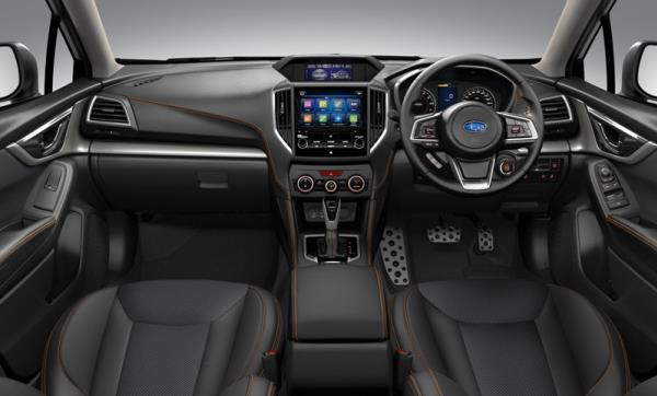 ภายในห้องโดยสาร ของ Subaru New XV