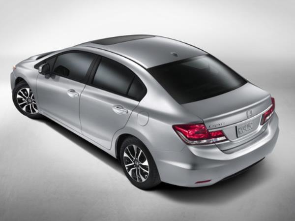 สื่อนอก เปิดเผยรูปภาพ Honda Civic  US Minorchange  ของทาง USA