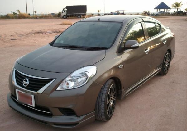 Nissan Almera ผ่านการแต่งสวยดูสปอร์ตเร้าใจมากยิ่งขึ้น