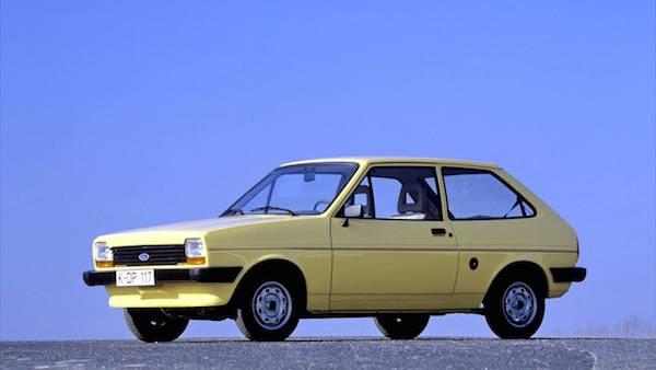 Ford Fiesta รุ่นแรกๆ