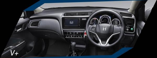 สภาพภายในของ Honda Jazz รุ่น V+
