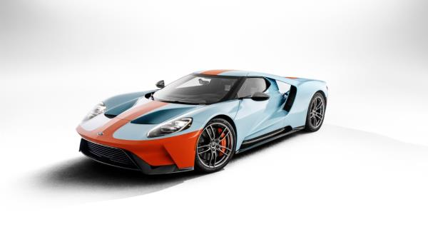Ford GT 2019 Heritage Edition