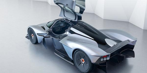 Aston Martin Valkyrie ดีไซน์อนาคต