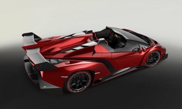 Lamborghini Veneno Roadster รถซูเปอร์คาร์พลังแรง