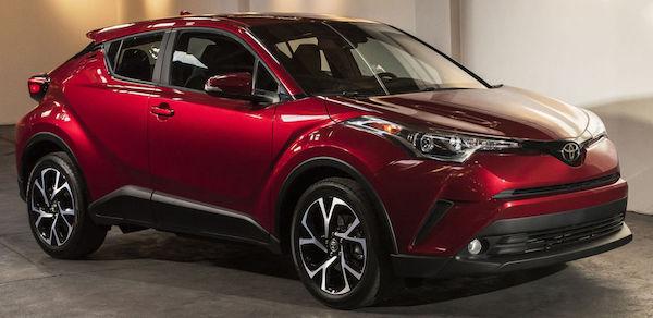 Toyota CH-R ที่ยังคงเป็นเอกลักษณ์