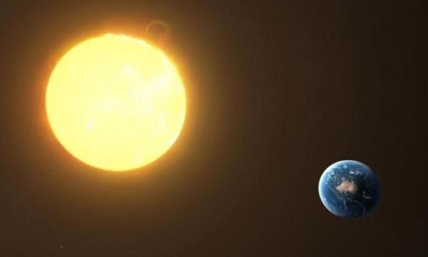 ระยะทางจากดวงอาทิตย์ถึงโลกแสงยังใช้เวลาเดินทางเฉลี่ยตั้ง 8นาที 20วินาที