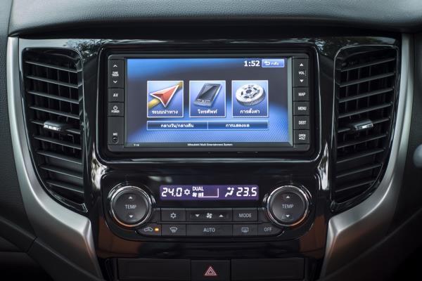 จอแสดงข้อมูลการขับขี่แบบ Multi Information Display