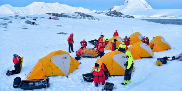 ถึงแม้จะหนาวจัดแต่ก็มีนักท่องเที่ยวและนักวิจัยในทวีปแอนตาร์กติกา