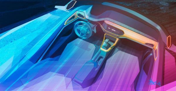 ภายใน Volkswagen - All new 2019 T-Cross