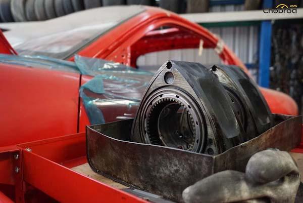 หน้าตาของส่วนประกอบหลักของเครื่องยนต์สูบหมุน แตกต่างหน้าตาเครื่องยนต์ทั่วไปอย่างสิ้นเชิง