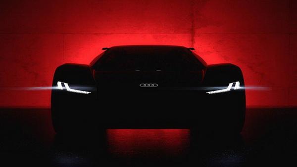 Audi PB18 E TRON Supercar ดีไซน์โฉบเฉี่ยวล้ำสมัย
