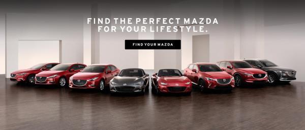 รถยนต์ค่าย Mazda