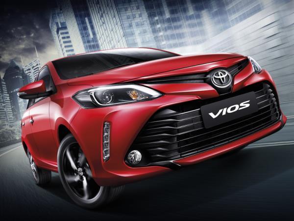 ภายนอก Toyota Vios 2018