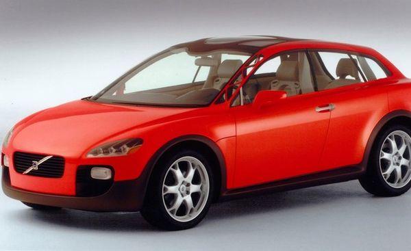 รถยนต์ Volvo Safety Concept Car