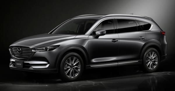 รูปลักษณ์ภายนอก Mazda CX-8 ที่ใหญ่กว่า CX-5