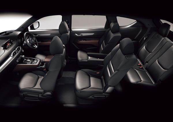 Mazda CX-8 ภายในกว้างขวางพร้อมที่นั่ง 3 แถว