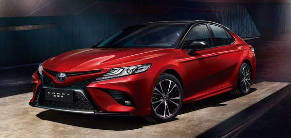 Toyota Camry ใหม่ที่ภายนอกที่เปิดเผยโฉมหน้ากันไปแล้วในระดับโลก