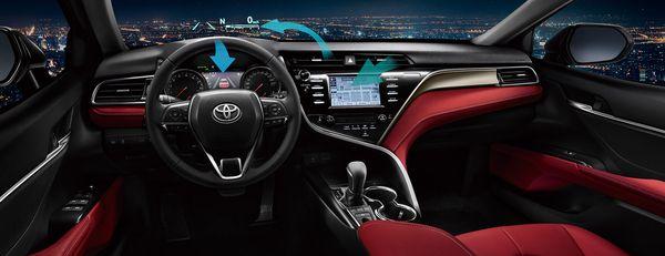 ภายใน Toyota Camry ที่อลังการงานสร้างดูโมเดิร์นมากๆ