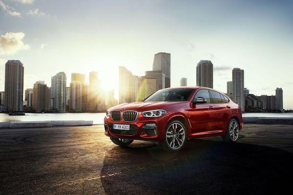 BMW X4 2018 รถ Sports Activity Coupe ที่โฉบเฉี่ยว