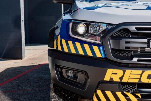 ดีไซน์ภายนอกของ Ford Ranger Raptor