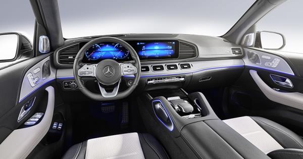 ดีไซน์ภายในเเละขุมพลังของ  Mercedes-Benz GLE 2019