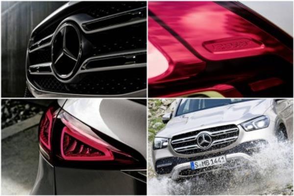 ดีไซน์ภายนอกของ  Mercedes-Benz GLE 2019
