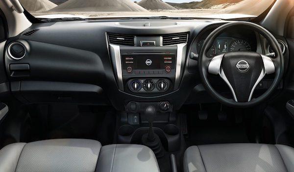 ภายในของ Nissan Navara 2018 มาพร้อมเทคโนโลยีอำนวยความสะดวก