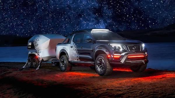 เปิดตัว Nissan Navara Dark Sky Concept รถกระบะแห่งโลกอวกาศ