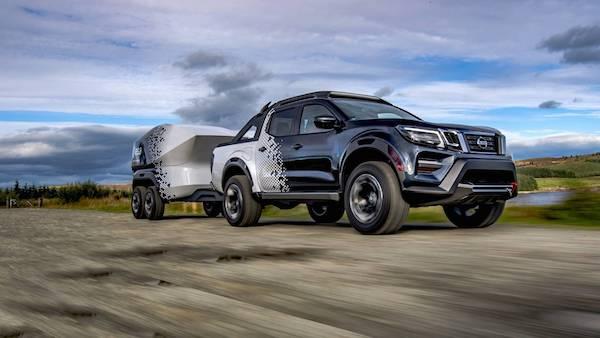 Nissan Navara Dark Concept มาพร้อมเทคโนโลยีทันสมัย