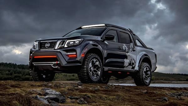 ดีไซน์ Nissan Navara Dark Sky Concept ที่โดดเด่น