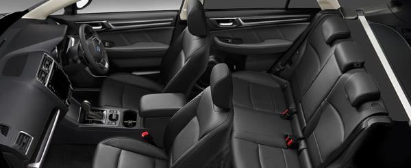 ดีไซน์ภายในของ Subaru Outback 2018