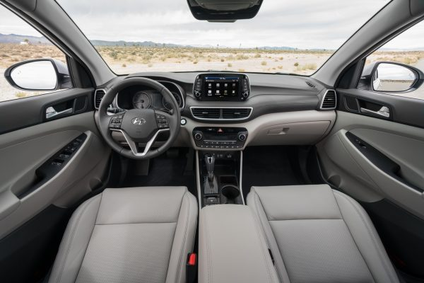 ภายใน Hyundai Tucson 2018