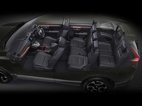 Honda CR-V 2018 เบาะมี 3 แถว โดยสารได้ถึง 7ที่นั่ง