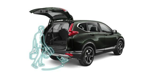 ระบบเปิดประตูท้ายแบบแฮนด์ฟรีใน  Honda CR-V 2018