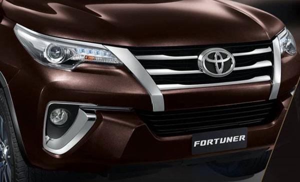 ภายนอก Toyota Fortuner 2018