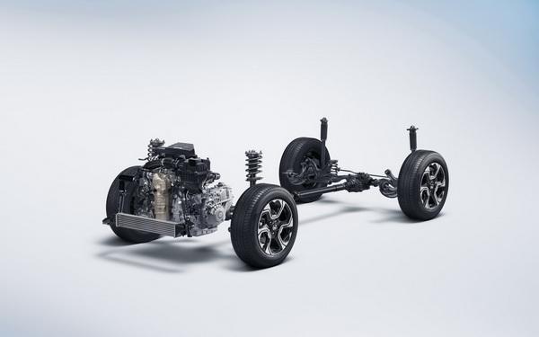 ช่วงล่างของ Honda CR-V 2019 ให้สมรรถนะการขับขี่ที่นุ่มนวล