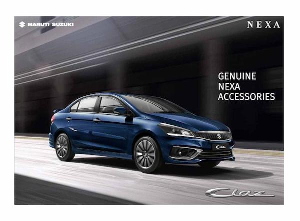 เปิดตัว Suzuki Ciaz Minorchange ในอินเดีย