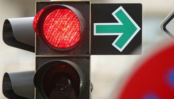 สัญญาณไฟที่ไม่เคยเป็นสีเขียวในเมือง Dresden ประเทศเยอรมนี