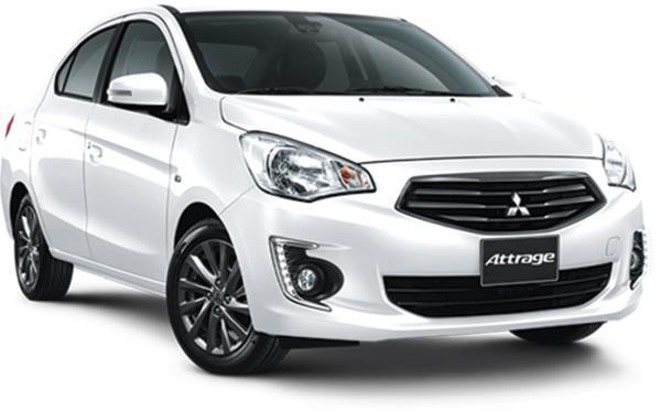 ภายนอก Mitsubishi Attrage  2017