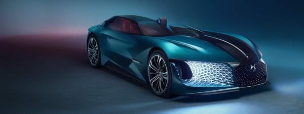 DS X E-TENSE รถสปอร์ตแห่งปี 2035