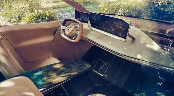 ดีไซน์ภายในของ BMW Vision iNEXT