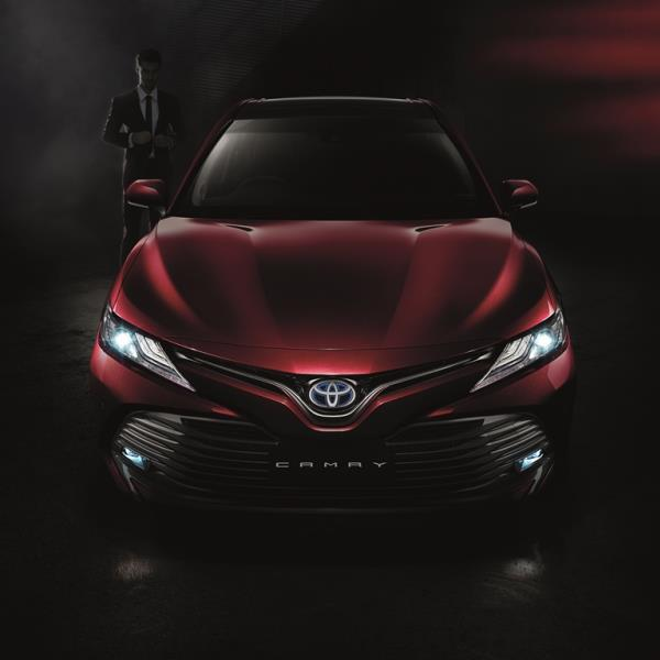 เปิดตัว Toyota Camry 2019 วันที่ 29 ตุลาคม 2561